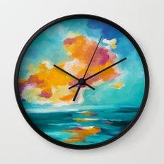 Morning Breaks Wall Clock