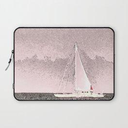 """""""Sailboat #8"""" Art of the Sea by Murray Bolesta Laptop Sleeve"""