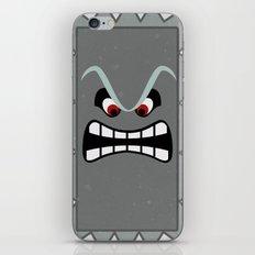Minimalist Thwomp iPhone & iPod Skin