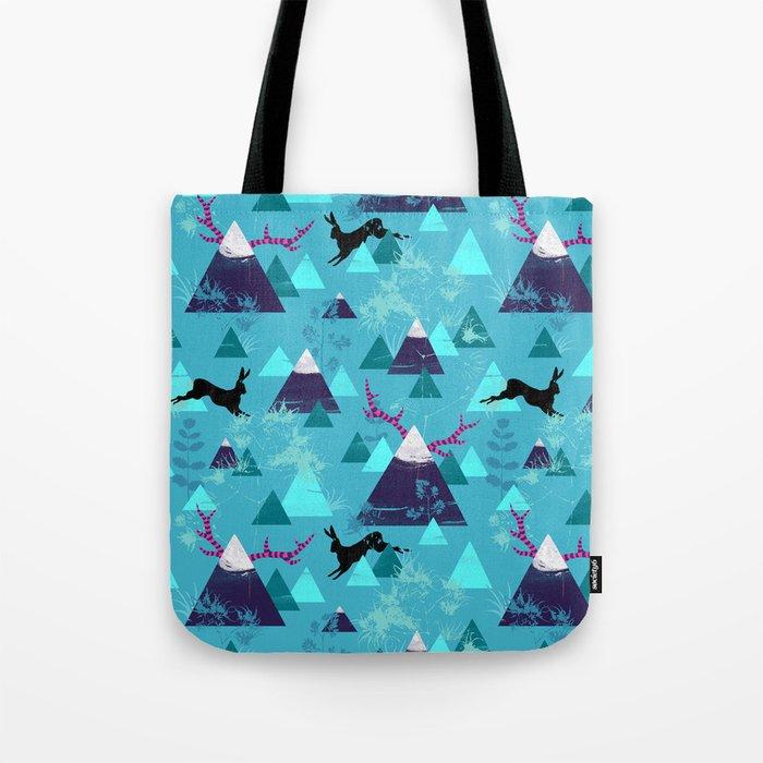blu mountains Tote Bag
