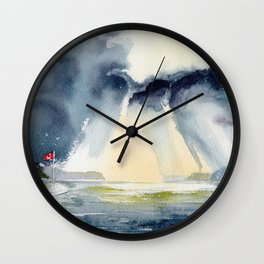 Hope Bay Wall Clock
