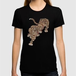 Tiger in Asian Style T-shirt