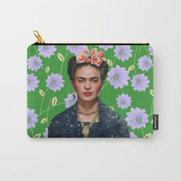 Frida Kahlo Portrait II Carry-All Pouch