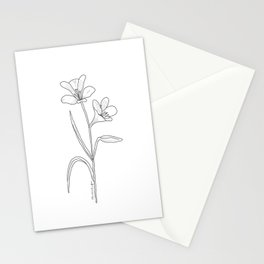 Amancay - Patagonian wildflower Stationery Cards