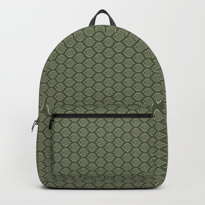 Olive Scales Backpack