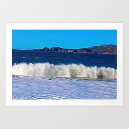 California Surf Art Print
