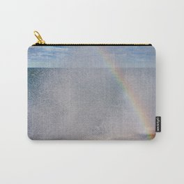Lake Michigan Natural Fountains #5 - Sunbow (Chicago Waves Collection) Carry-All Pouch
