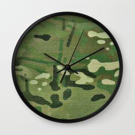 Multicam Camo Wall Clock