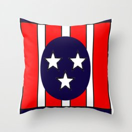 I believe in Memphis Throw Pillow
