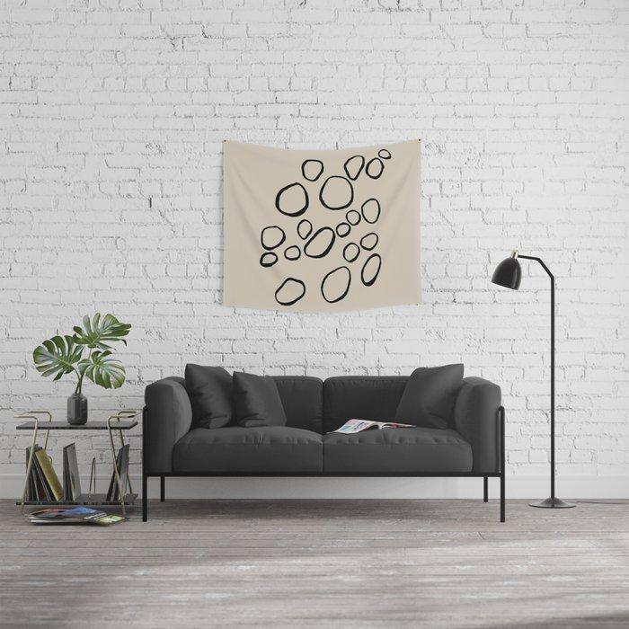 Daisy Circles Wall Tapestry