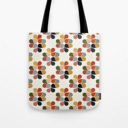 Retro geometry pattern Tote Bag