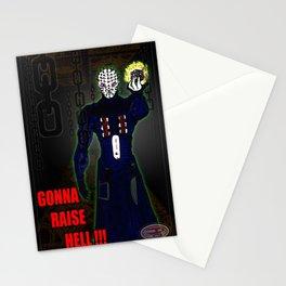"""Gonna Raise Hell"" Darrell Merrill Stationery Cards"
