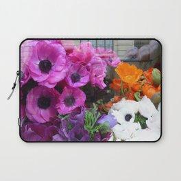 Flower Shop Window Laptop Sleeve