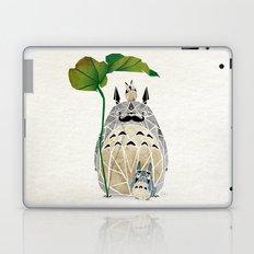 totoro moustache Laptop & iPad Skin