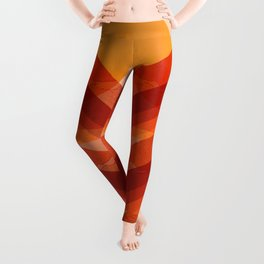 Abstraction_SUN_Mountains_Rainbow_Minimalism_001 Leggings