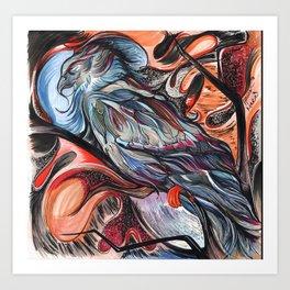 Desert Eagle Art Print