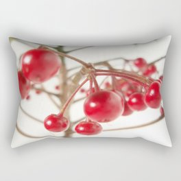 Scarlet Berry Rectangular Pillow
