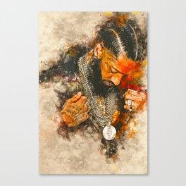 Hussle had Canvas Print