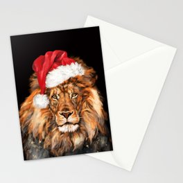 Christmas King Lion Stationery Cards