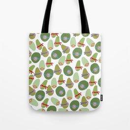 Ninja Avocados Tote Bag