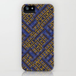 Blue Tribe iPhone Case