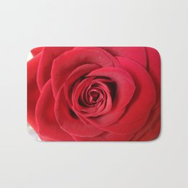Red Velvet Bath Mat