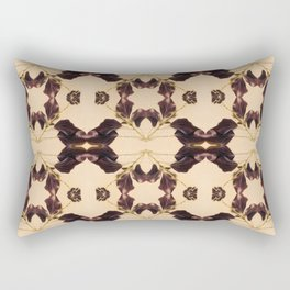 Blackberry Kaleidoscope Photographic Pattern #1 Rectangular Pillow