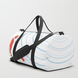Swish of fish Duffle Bag