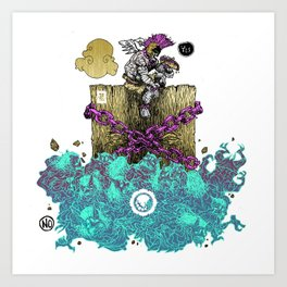 YESANDNO Art Print