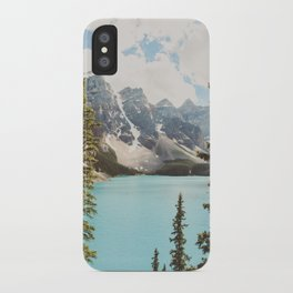 Moraine Lake II Banff National Park iPhone Case