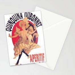Quinquina Dubonnet Aperitif  Dans Tous Les Cafes Stationery Cards