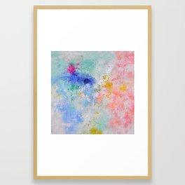 Dance of balance Framed Art Print