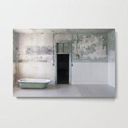 Jail Tub Metal Print