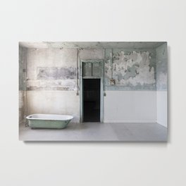 Jail Tub Metal Print