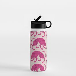 Wild Cats - Pink Water Bottle