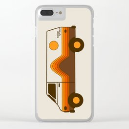 Sunset Chaser Clear iPhone Case
