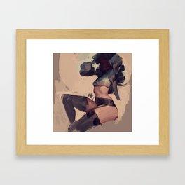 Thights Framed Art Print