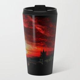 Gott steh mir bei und öffne deine Tore Metal Travel Mug