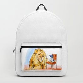 The Real King Frenchie Backpack