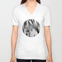 the xx V-neck T-shirts featuring Abstract XX by morenina