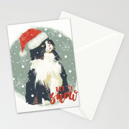 Vintage Christmas (Cat Edition 2) Stationery Cards
