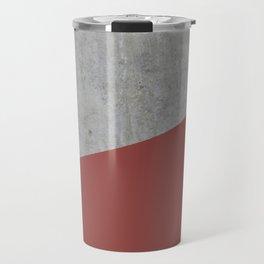 Concrete with Chili Oil Color Travel Mug