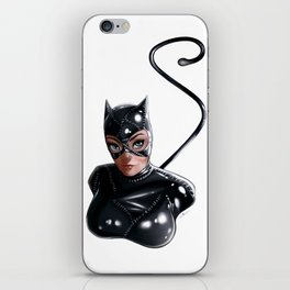 Cat Woman iPhone Skin