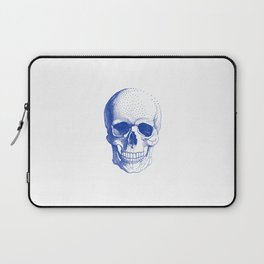 Blue skull Laptop Sleeve