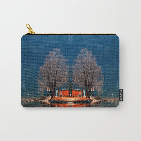 Gone fishing | waterscape photography Carry-All Pouch
