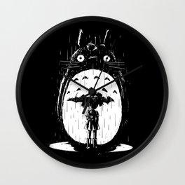 A Noir Neighbour Wall Clock