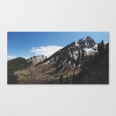 Utah Mountains Canvas Print
