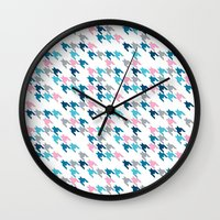 tooth Wall Clocks featuring Pink Tooth by Project M