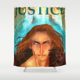 Torn Justice Shower Curtain
