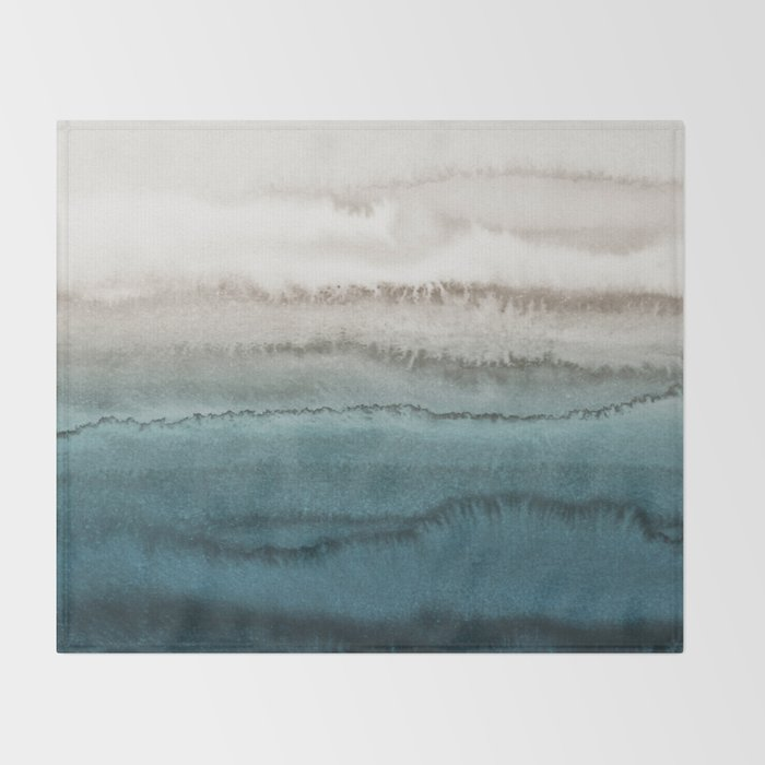 WITHIN THE TIDES - CRASHING WAVES TEAL Decke